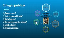 Copy of Copy of Colegio público