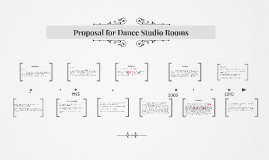 Proposal for Dance Studio Rooms
