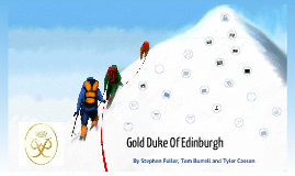 Gold Duke Of Edinburgh 2012