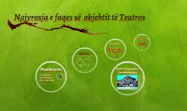 Ngjyrosja e faqes së  objektit të Teatros