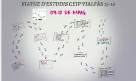 VIATGE D'ESTUDIS CEIP VIALFÀS 15-16