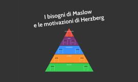 Comunicazione - La piramide dei bisogni