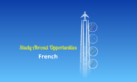 French Study Abroad (no 230)