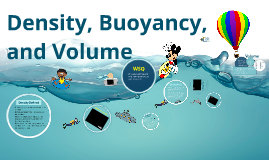 Density, Buoyancy, and Volume