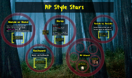 Copy of AP Style Stars