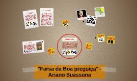 "Copy of Copy of ""Farsa da Boa preguiça"" - Ariano Suassuna"