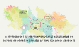 A DEVELOPMENT OF PERFORMANCE-BASED ASSESSMENT ON DISPENSING