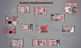 Copy of Suomen kirjallisuushistoria