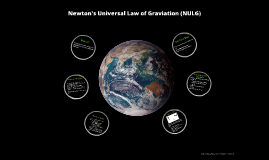Newton's Universal Law of Graviation (NULG)