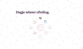 Dagje winter efteling