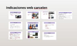 indicaciones web carcelen