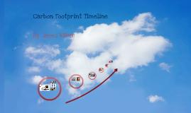 Carbon Footprint Timeline