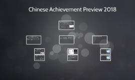 Chinese Achievement Preview 2018
