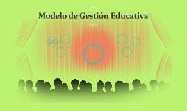 Modelo de Gestión Educativa
