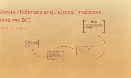 Persia's Religion and Culture