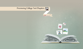 Previewing college text chapters