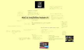 What is Qualitative Research?