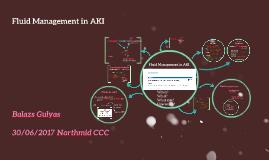 Fluid Management in AKI