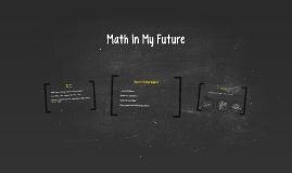 Math In My Future