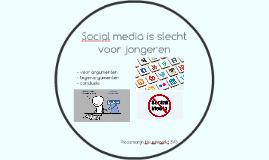 Copy of Socialmedia is slecht voor jongeren