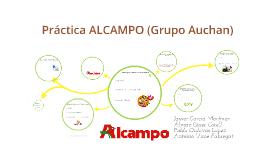 Práctica Alcampo