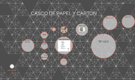 CASCO DE PAPEL Y CARTON