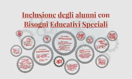Inclusione degli alunni con Bisogni Educativi Speciali