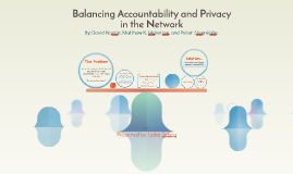 Balancing Accountability and Privacy in the Network