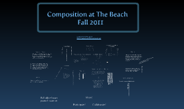 Copy of Composition at The Beach