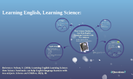Learning English, Learning Science