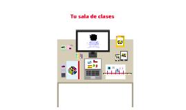 Tema 2B : Tu sala de clases