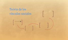 Teória de los vínculos sociales