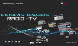 CLASE N°12-LAS NUEVAS TECNOLOGÍAS-RRyTV-UCV
