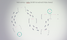 Web service - Infor LN ERP and Android (movie demo)