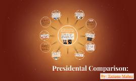 Presidental Comparison: