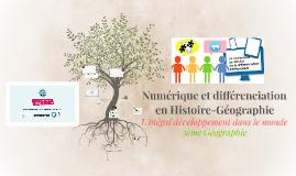 Numérique et différenciation : L'inégal développement dans le monde