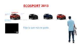 Copy of Ecosport 2013