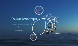 Copy of The Blue Brain Project - LT