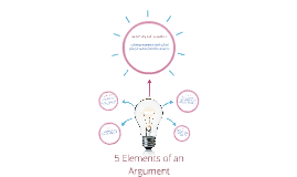 Copy of 5 Elements of an argument