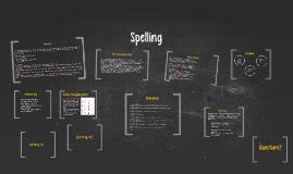 Spelling Presentation