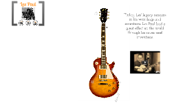 Les Paul - Musician, Inventor, and Sound Pioneer- Below Grade Level