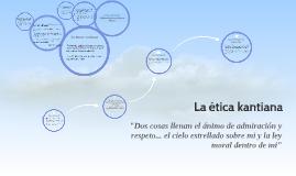 Copy of La ética kantiana