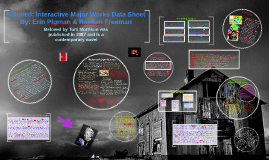 Copy of Beloved: Interactive Major Works Data Sheet