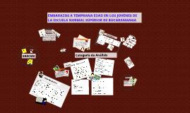 EMBARAZOS A TEMPRANA EDAD EN LOS JOVENES DE LA ESCUELA NORMA