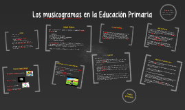 Copy of Los musicogramas en la etapa de primaria