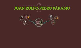 JUAN RULFO-PEDRO PÁRAMO