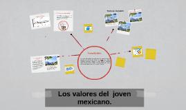 Copy of Los valores del  joven mexicano.