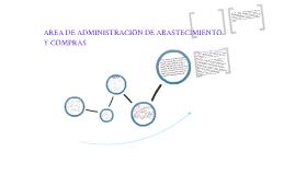 AREA DE ADMINISTRACION DE ABASTECIMIENTO Y COMPRAS