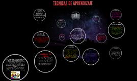 TECNICAS DE APRENDIZAJE