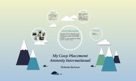 Copy of My Coop Placement                         Amnesty Internatio